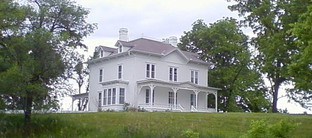 The Harris House, a 15-room, 1883 mansion west of Linwood, was recently purchased by Rory and Wendy Stephen, co founders of the television network GOD TV.
