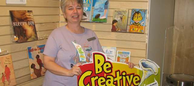 Basehor Community Library children's librarian Vickey Long is organizing several activities for children in the summer reading program. Long said the program involved  a combination of reading books and attending library events.