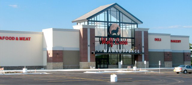 Wolf Creek Marketplace in Basehor is expected to open its doors in mid-July.