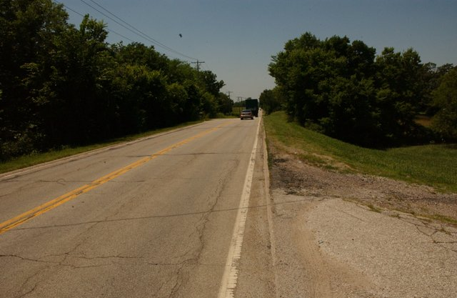 Work should start on the repaving on 83rd Street from Kill Creek Road to the east ciity limits within two weeks. Once that work is finished, the De Soto City Council will reconsider lifting the ban on bicycle traffic on the stretch of road.