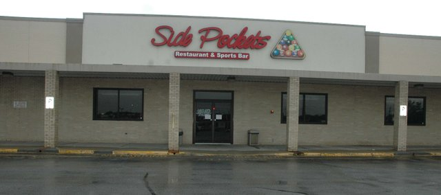Sidepockets Bar and Grill in Bonner Springs has closed.