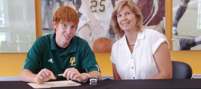 Chris Douglas, a 2009 Basehor-Linwood High School graduate, recently signed a letter of intent to play college golf at Ottawa University.