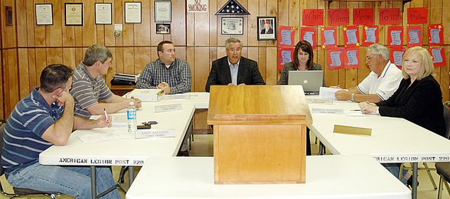 Baldwin's City Council discussed a possible 11.5 percent increase in electrical rates, along with this year's budget at Monday's meeting.