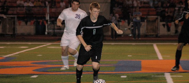 Sammy Seibolt is one of several seniors ready to defend De Soto's Frontier League soccer title this fall.