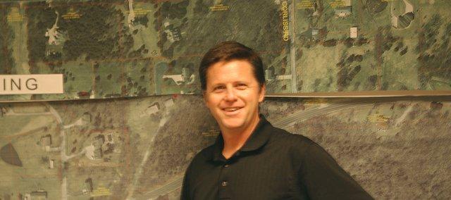 De Soto city engineer Mike Brungardt