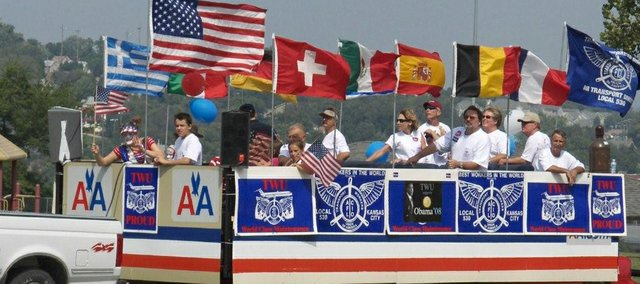 A Transport Workers Union of America Local 530 float was featured in last year's Labor Day parade. Donna Birks, president of the Tri-County Labor Council representing Johnson, Wyandotte and Leavenworth counties, shares what will be going on this year during Labor Day.