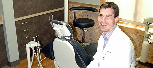 Local dentist Chris Leiszler is among those dealing with patients who clench or grind their teeth.