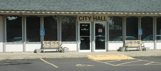 Edwardsville City Hall, 690 S. 4th Street.