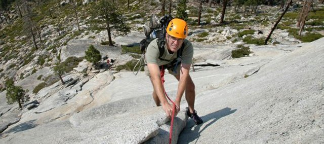 Grant Ritchey climbed Snake Dike in Yosemite National Park, Calif., earlier this year.