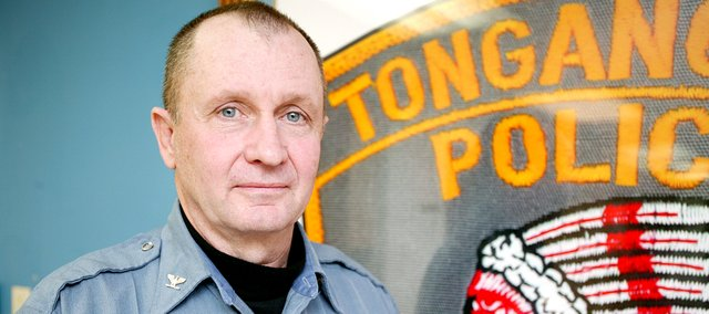 Kenneth Carpenter, Tonganoxie Police Chief.