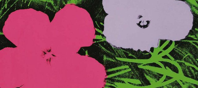"Andy Warhol, ""Flowers,"" 1970, one in a series of 10 screenprints on paper. (c) The Andy Warhol Foundation for the Visual Arts/Artists Rights Society, New York."