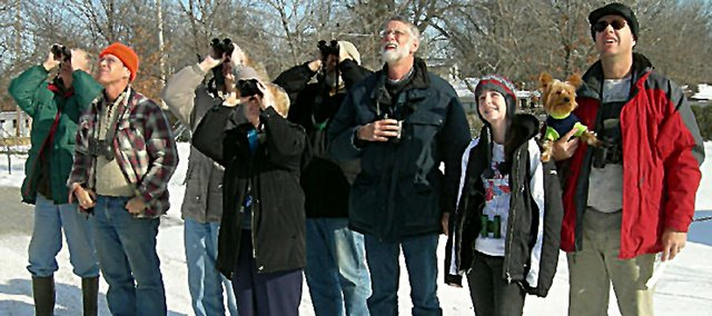 Volunteers will again be counting the number and species of birds in and around Baldwin City on Dec. 27.