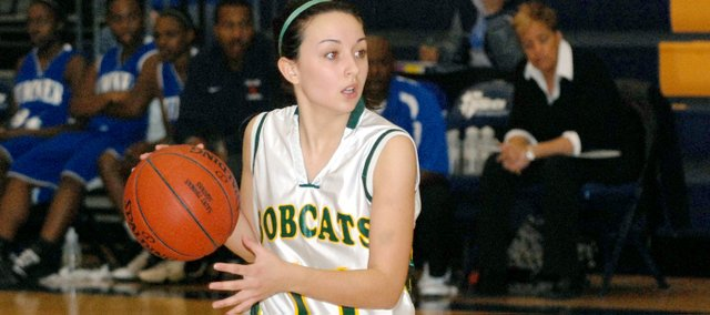 Courtney Poe and the Basehor-Linwood girls avenged an earlier loss to Sumner Academy as the Bobcats won, 42-35, on Tuesday at Sumner. Poe scored 13 points for BLHS, including six free throws down the stretch that helped seal the victory.