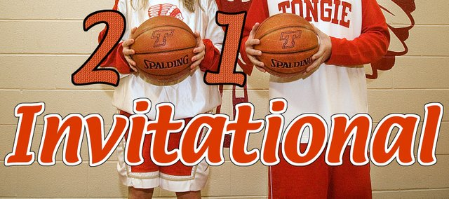 Tonganoxie High seniors Lauren Hall and Keaton Schaffer lead their teams into the 51st annual Tonganoxie Invitational, which began on Monday at THS and continues throughout this week, wrapping up on Saturday.