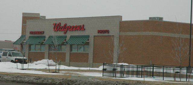 A new Walgreens, located in the Bonner Pointe development site at Kansas Avenue and Kansas Highway 7, is set to open in March.
