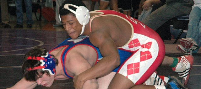 Austen Holloway, 189-pound Tonganoxie High senior, went 3-2 and placed fifth at the Baldwin Invitational on Saturday.