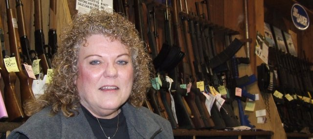 Bonner Springs resident Patricia Stoneking was the first woman to serve as president of the Kansas State Rifle Association. She is currently serving her third year in the position.