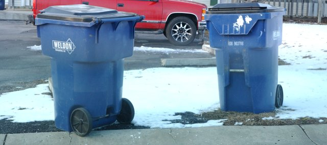 Recycle bundles could join garbage containers on De Soto curbsides under new Johnson County regulations to be considered this spring by the county commission.
