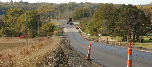 The city of De Soto won't be undertaking anything as ambitious as last fall's repaving of 83rd Street east of Kill Creek Road in 2010. To stretch budget dollars, the city will use slurry seal in conjunction with mill and overlay repaving this year.
