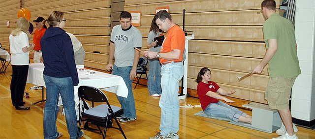 The annual Community Wellness Festival is scheduled for Saturday at the Collins Center on Baker University's campus.