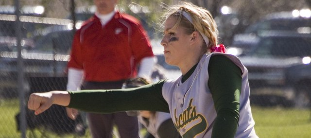 In a sweep of Tonganoxie High on Thursday at Field of Dreams, Basehor-Linwood pitcher Shelby Pierce threw a total of 10 and two-thirds innings and picked up a pair of victories.
