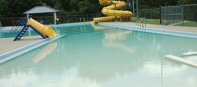 The Baldwin City Municipal Swimming Pool was filled this week in anticipation of the upcoming summer season. The pool is scheduled to open May 29.