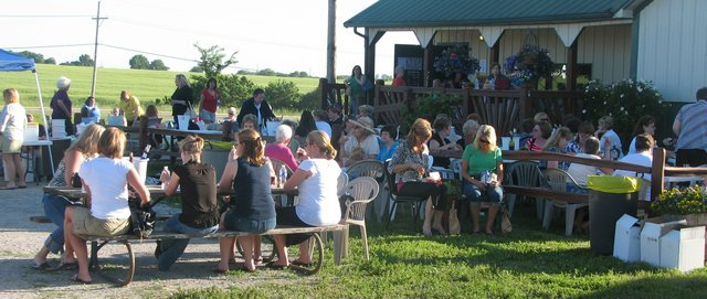 Ladies Night at Holy-Field Vineyard and Winery has become an annual tradition drawing women from across the state to the winery.