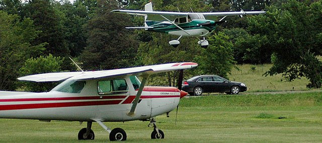 Airplanes at the Vinland Airport will again be a key component of the Planes, Trains and Automobiles event Saturday.