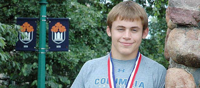 Josh Hanson, a 2010 Baldwin High School graduate, was selected as the Baldwin City Signal's first-ever male senior athlete of the year. Hanson placed third at the state wrestling tournament and earned academic honors after graduating with a 3.94 GPA.