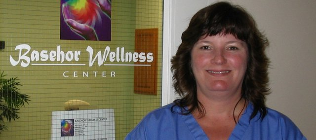 Beth Conrad is the owner of the Basehor Wellness Center on State Avenue. The center opened early in June and offers massage therapy, energy work and life coaching.