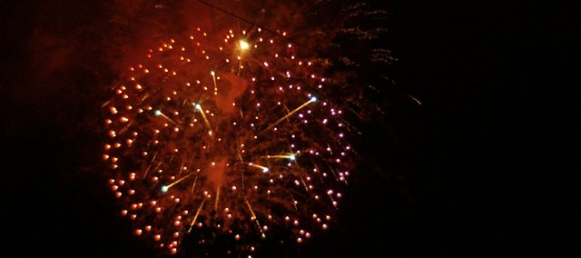 Sunday is the Fourth of July and that means fireworks. Everyone should be aware of the laws regarding fireworks in their community and what days and hours they are permitted to be shot. In Tonganoxie, fireworks can be discharged 8 a.m.-11 p.m. Saturday and Sunday. The State Fire Marshal gives the following advice on fireworks.