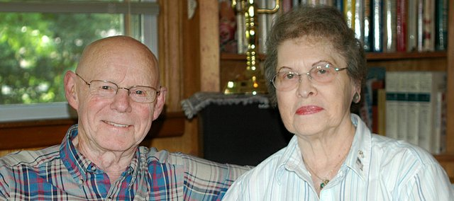 Harold and Bernice Klein have a Western Union receipt to show just how close they came to being scammed out of $3,000. A caller claiming to be their grandson persuaded the Shawnee couple to wire the money to him because he was in legal trouble in Canada.