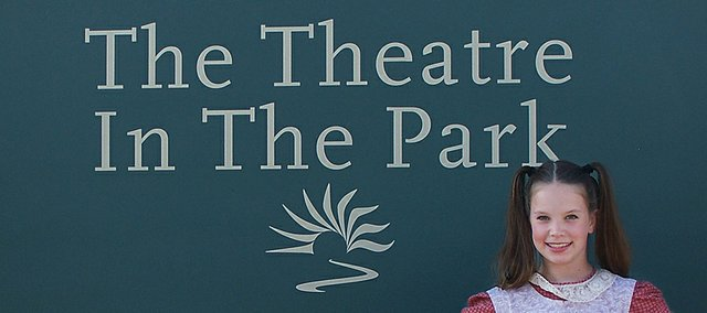 """Maycee Steele, Shawnee, is taking on the role of Tessie as part of Shawnee Mission Park's The Theater in the Park production of """"Annie."""""""