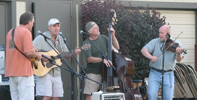 The Stranger Creek String Band performs at the 2009 Basehor July 4 celebration. This year's celebration will also feature live entertainment, along with other favorite traditions such as the parade, fireworks show and naming of the Citizen of the Year.