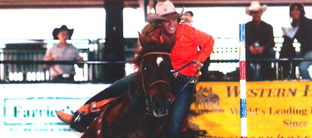 Shelby Pursel, Tonganoxie High School student, will compete in the National High School Finals Rodeo July 18-24 in Gillette, Wyo.