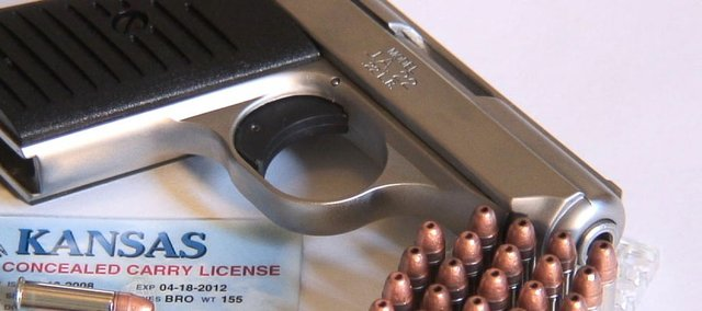 Finding places that allow you to carry a concealed weapon in Lawrence is not hard. A new law that went into effect July 1 makes it even easier to obtain a concealed carry permits.