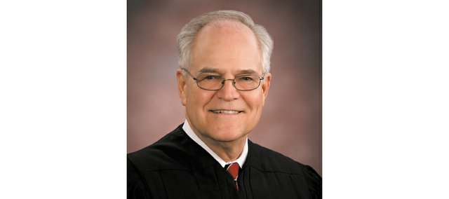 Former Kansas Chief Justice Robert E. Davis