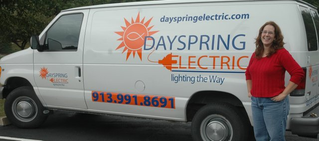 Sandy Scubelek is a master electrician with more than 14 years of experience. Scubelek recently opened Dayspring Electric at 10601 Kaw Drive, Suite C, in Edwardsville.