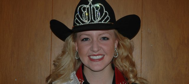 Bonner Springs resident Alyssa Morrison was recently crowned Miss Rodeo Kansas 2011.