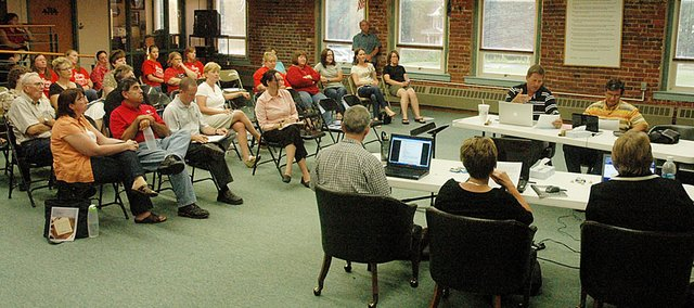 The Baldwin School Board discussed the possibility of closing the two rural elementary schools at Monday night's meeting. This summer, the topic drew large crowds at each meeting with patrons on both sides of the issue. Those same large crowds are expected during the upcoming months.