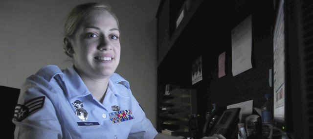 Air Force Senior Airman Megan L. Bedard, Leavenworth, is a police services specialist assigned to the 39th Air Base Wing, Incirlik, Turkey. The 39th Air Base Wing is responsible for protecting U.S. and NATO interests in the Southern Region of Turkey.