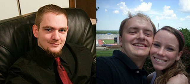 From left, Mathew Nuzik, 30, Jake Henry, 21, and Stephanie Conn, 22, were killed Sunday, Oct. 10, in a crash on Kansas Highway 32.