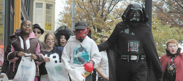 Youngsters will troll the streets of their neighborhoods gathering tasty treats for Halloween. The Safe Kids Kansas Coalition shares tips to make for a safe holiday celebration.