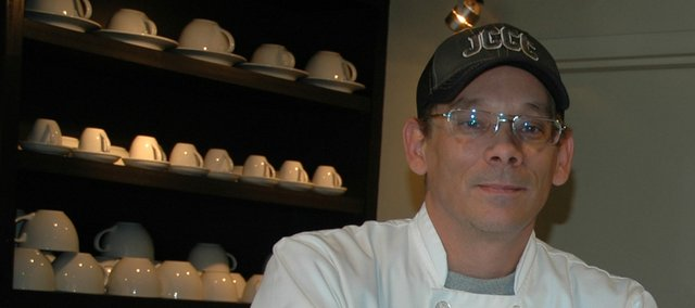Jeffrey Cook, Eudora, is the new owner of Coffee at 515 in Bonner Springs.