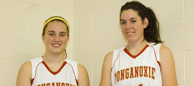 Danielle Miller and Tayler Miles, Tonganoxie High senior post players, lead a Chieftains team hoping to improve on its six-win total from last season.