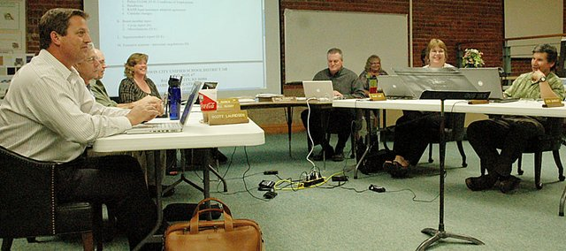 The Baldwin School Board is expected to make a decision on the rural school closing proposal at Monday's meeting.