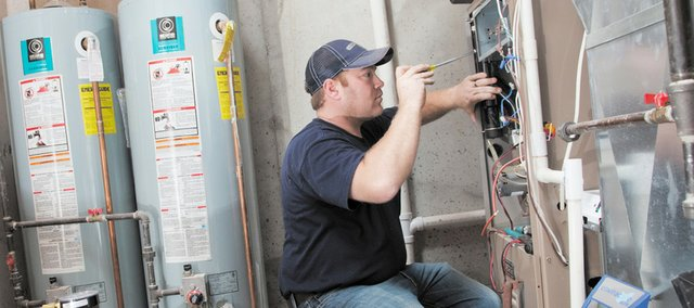 Annual service to your home's heating system is among the recommended steps for winterizing your home.