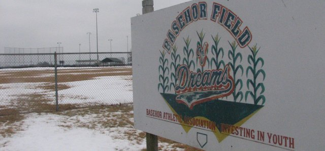 The Basehor Field of Dreams sports complex lies empty and covered with snow for now, but in a few months it will be filled with baseball and softball players. The City Council ensured that by awarding a contract Monday for a youth sports operator.