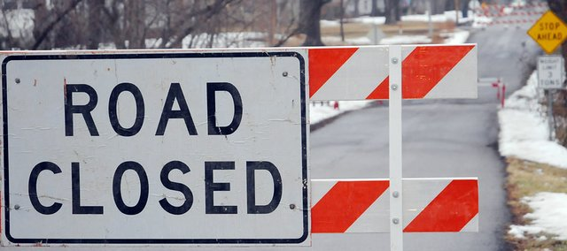 After a recent safety inspection, the bridge on Elm Street west of 10th Street was closed. The city hopes to replace the structure this spring or summer.