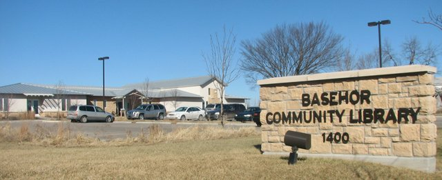 Basehor Community Library is at 1400 158th St. in Basehor.